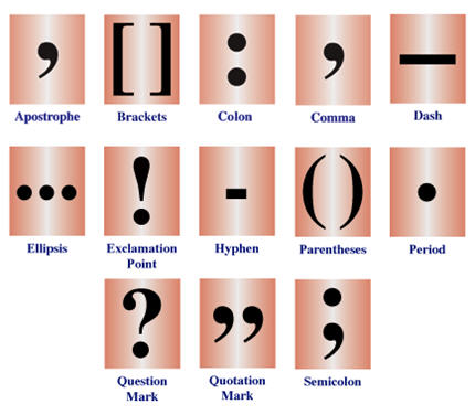 Punctuation Mark Symbols /punctuation-marks.jpg